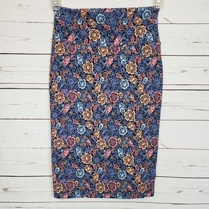 LuLaRoe Cassie Floral Pencil Skirt
